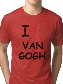 I love Van Gogh Tri-blend T-Shirt