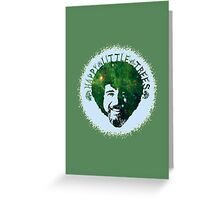 Happy Little Trees Greeting Card