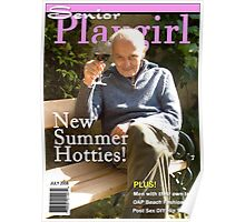 Senior Playgirl July Edition Poster