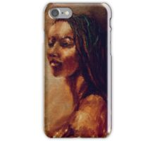 Model - Philadelphia Sketch Club iPhone Case/Skin