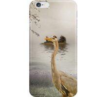 Great Blue Heron at Dusk iPhone Case/Skin