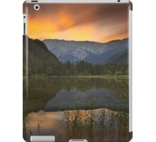 Sunset at Lake Dürrsee in Summer iPad Case/Skin
