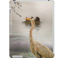Great Blue Heron at Dusk iPad Case/Skin