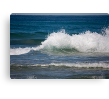 Exploding Whitewater Canvas Print