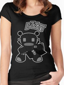 Bzzzzt!! Women's Fitted Scoop T-Shirt