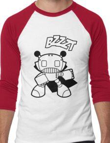 Bzzzzt!! Men's Baseball ¾ T-Shirt