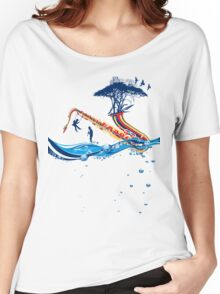 Music in my Dream Women's Relaxed Fit T-Shirt
