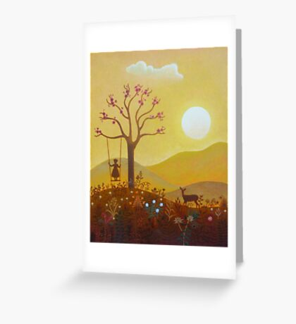 A Day In The Life Greeting Card
