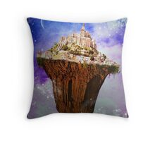 Heavenly Land Throw Pillow