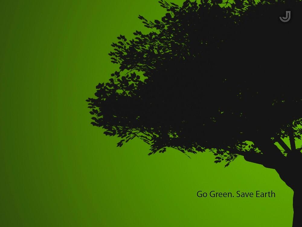 Go Green by jeetdesignz