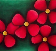 Red Flowers by Anthony Persram