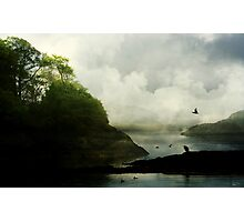 A world to roam through, and a home with thee.  Photographic Print