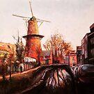 Utrecht Windmill I by Cameron Hampton