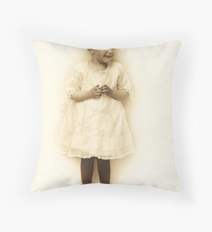 More Of Little Gladys ~ Number 3, Sans Props Throw Pillow