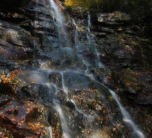 Chameleon Falls Autumn Foliage Sticker