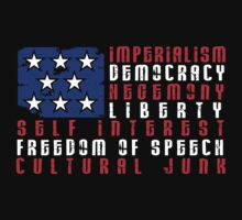Stars & Stripes - Democracy & Hegemony by jezkemp