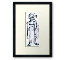 Nerd Robot Framed Print