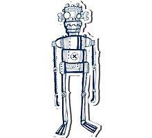 Nerd Robot Photographic Print