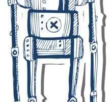 Nerd Robot Sticker