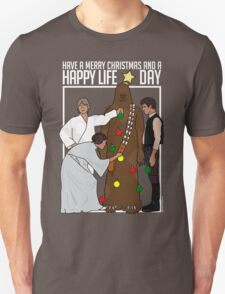 Star Wars Christmas Sweater - Merry Christmas and a Happy Life Day T-Shirt