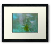 Under Ice - JUSTART © Framed Print