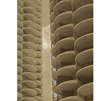 Corn Cob Apartments Photographic Print