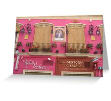 A Pink Shop..... Greeting Card