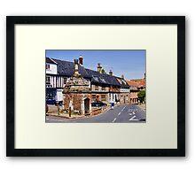 The Pump House - Walsingham Framed Print