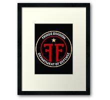 FRINGE Division Department of Defense Framed Print