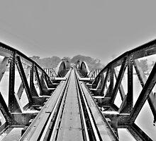 Railway Bridge by Elba Parra