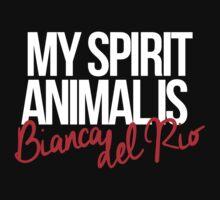 Spirit Animal - Bianca del Rio by pedrostudart