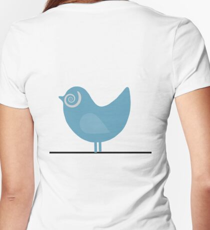 Bird on a Wire T Shirt Womens Fitted T-Shirt