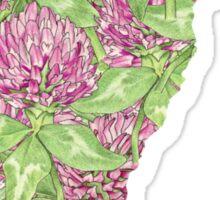 Vermont Flowers Sticker
