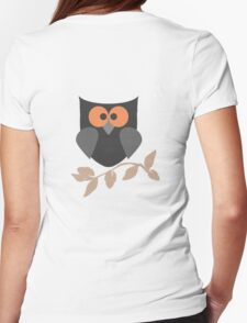 Night Owl T Shirt Womens Fitted T-Shirt