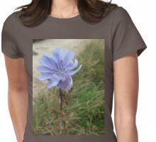 Windy Chicory Womens Fitted T-Shirt