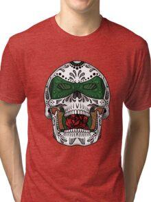 Sugar Skull Series - Green Lantern Tri-blend T-Shirt