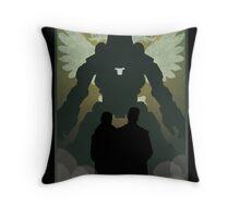 Propaganda Jaeger 4/5 Throw Pillow