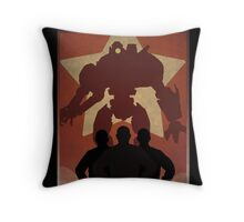 Propaganda Jaeger 3/5 Throw Pillow