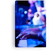 Funky Keyboard Canvas Print