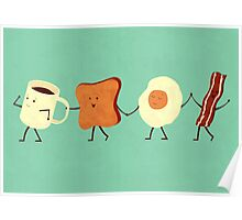 Let's All Go And Have Breakfast Poster