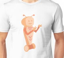 Orange-Bot Unisex T-Shirt
