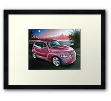 Custom PT Cruiser Framed Print