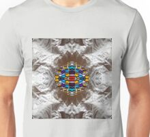 Rich Colorful Glass Droplets Unisex T-Shirt