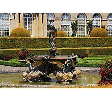 Italian Fountain Photographic Print