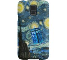 British Blue phone box painting Samsung Galaxy Case/Skin