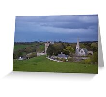Borthwick Castle and Church Greeting Card