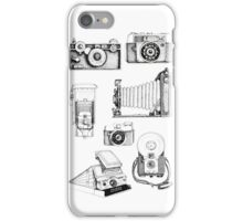 Vintage Camera Collection iPhone Case/Skin