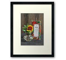 Zoë's Olive Oil!  Framed Print