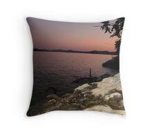 summer evening in TN Throw Pillow