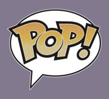 Pop! on White Kids Tee